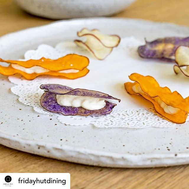 Check out this take of fish and chips 🍟 Amazing Joe and Matt @fridayhutdining  Nice plate ... available with our entire Eden range for hire for your next function 🙌🏼 Posted @withrepost • @fridayhutdining Who doesn't love to snack.... Mackerel brandade in sweet potato crisps.⠀⠀⠀⠀⠀⠀⠀⠀⠀ .⠀⠀⠀⠀⠀⠀⠀⠀⠀ .⠀⠀⠀⠀⠀⠀⠀⠀⠀ .⠀⠀⠀⠀⠀⠀⠀⠀⠀ .⠀⠀⠀⠀⠀⠀⠀⠀⠀ #fridayhutdining #nswfood #restaurant #tastingmenu #hinterland #localproduce #localfood #byronbayfood #community #possumcreek #byronbay #bangalow #foodie #destination #chef #nature #freshfood #flavours #food #byronbaycaterers #bangalow #corporatecatering #lunch