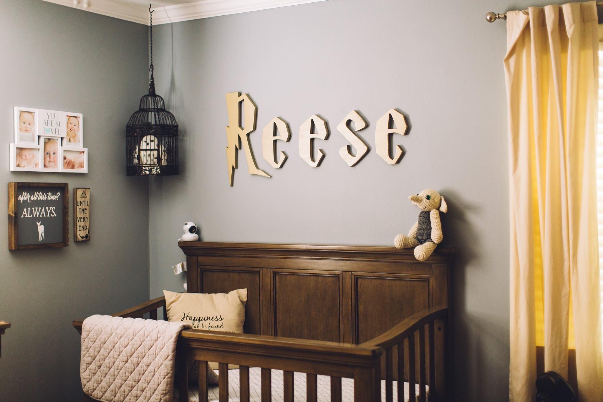 Nursery Baby Name Sign