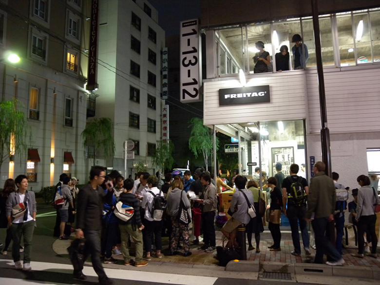 La primera tienda en Tokyo (Ginza) © Palika