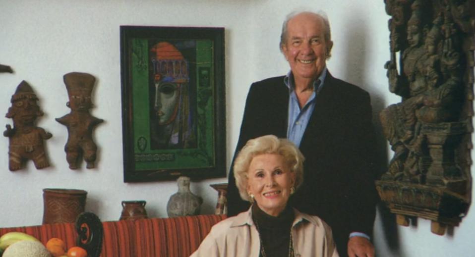 Noldi Schreck y su esposa Ruth Foto D. Wachter, cortesía Fam. Schreck