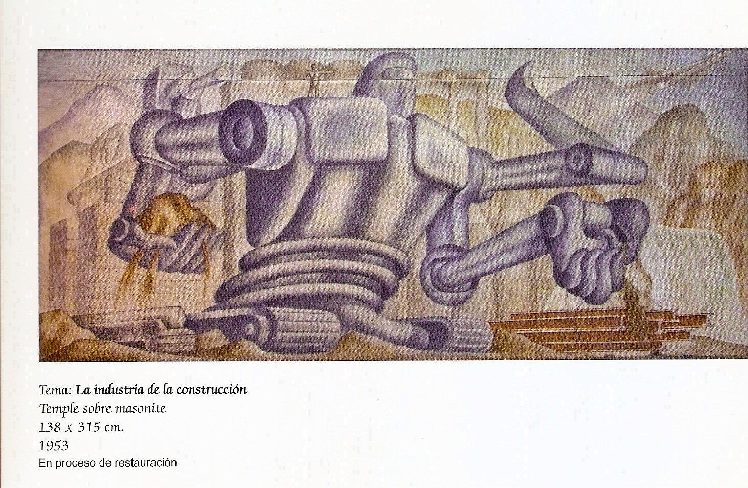 Folleto conmemorativo de entrega de murales Foto M. Dornbierer