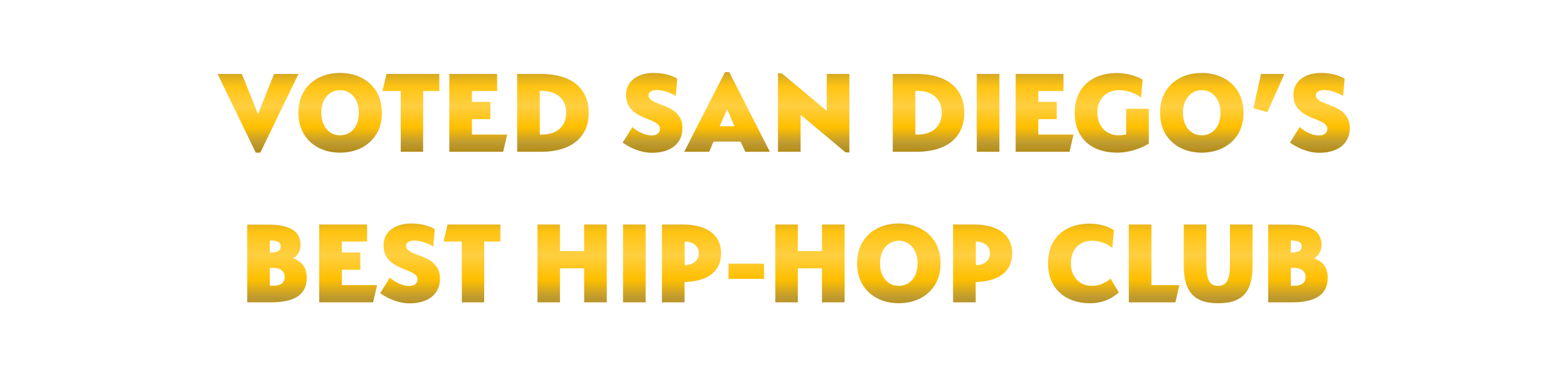 Voted Best Hip-Hop Club San Diego | F6ix
