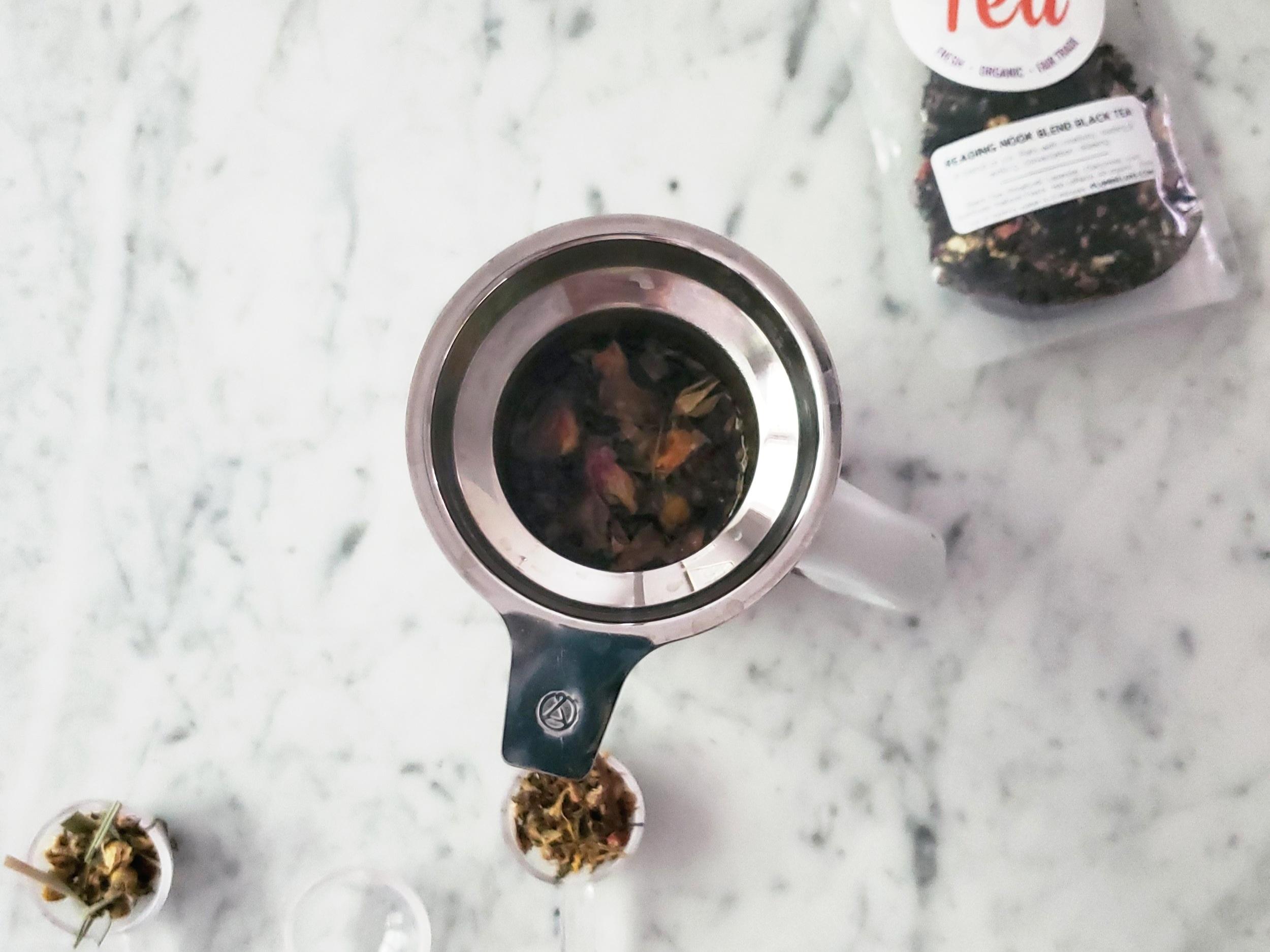 Plum Deluxe Reading Nook Tea Blend