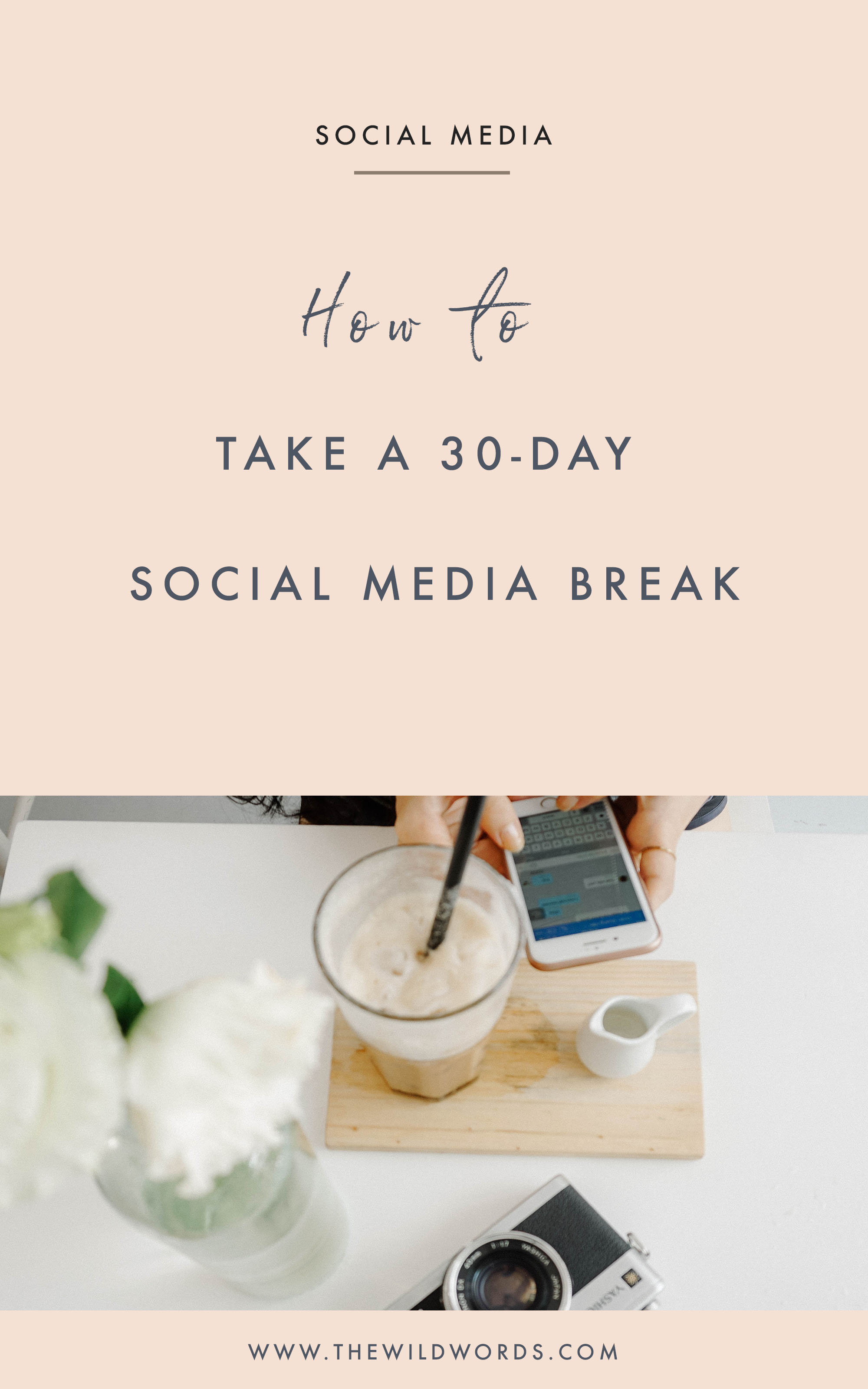 How to Take a Social Media Break // 3 Tips + 10 Questions to Ask (via Wild Words)
