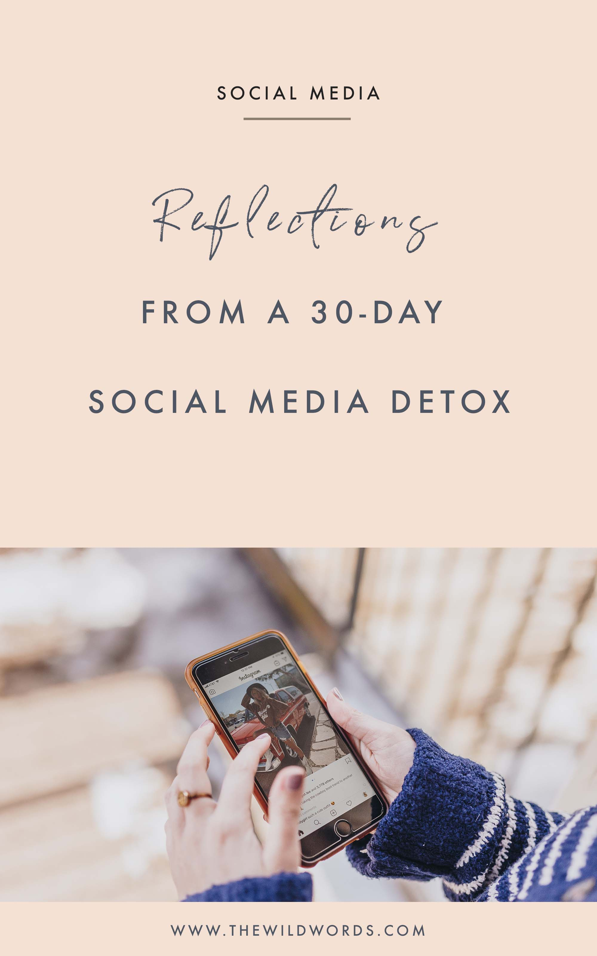 Rethinking Social Media: Reflections From a 30-Day Break