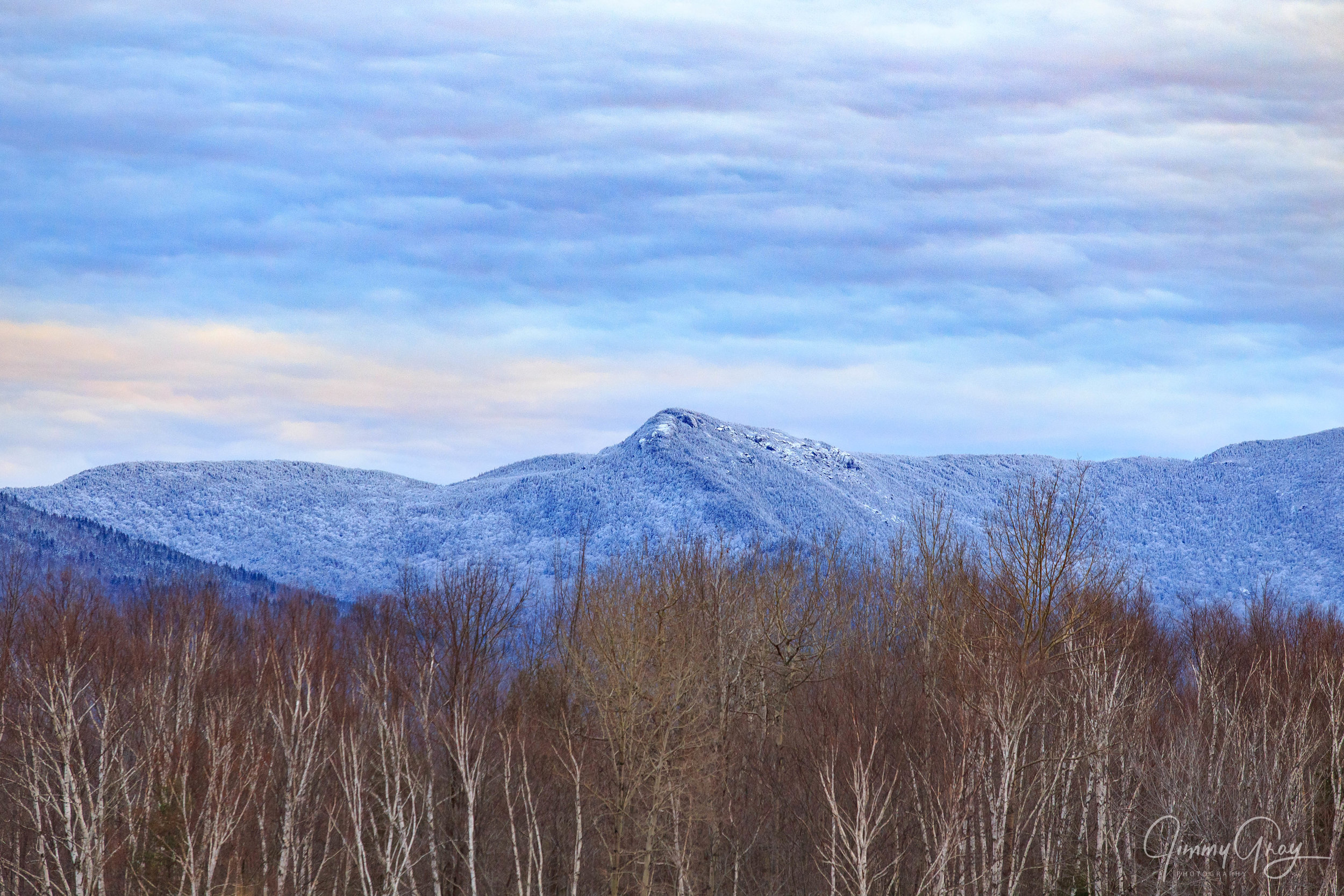 New Hampshire White Mountains In Winter