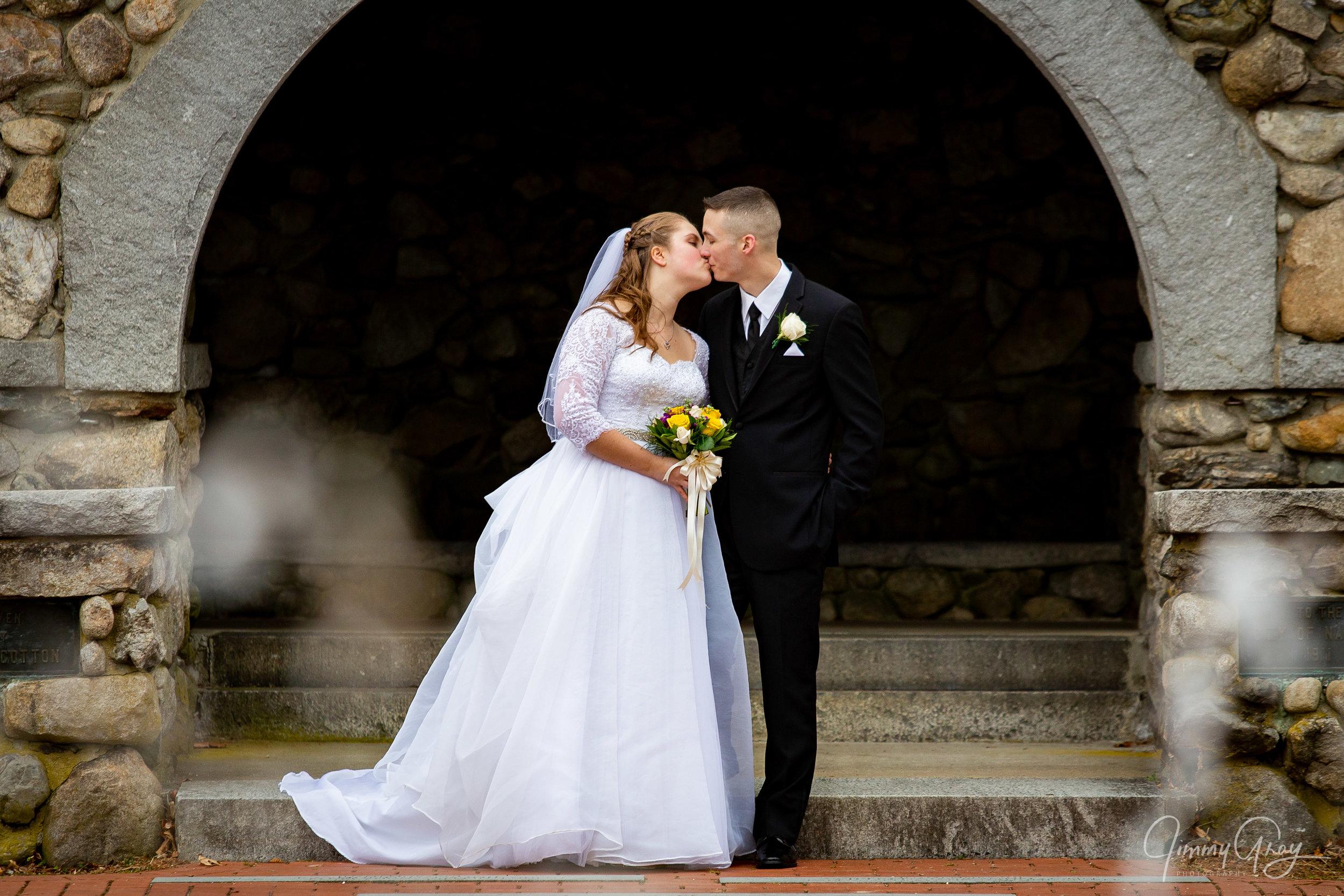 NH Wedding Photography - Jimmy Gray Photo - Nashua, NH - Greeley Park - Shot For MRD Photography