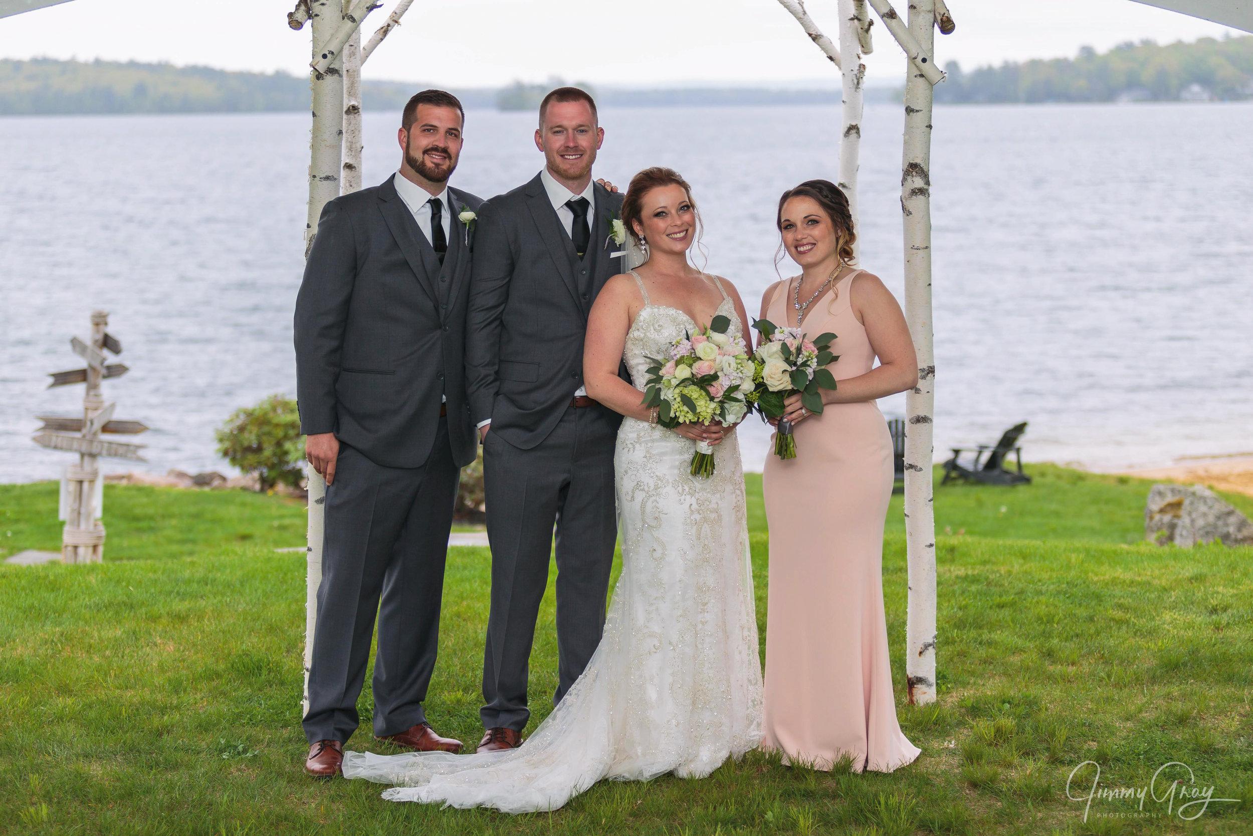 NH Wedding Photography - Jimmy Gray Photo - Laconia, NH - Akwa Marina Yacht Club