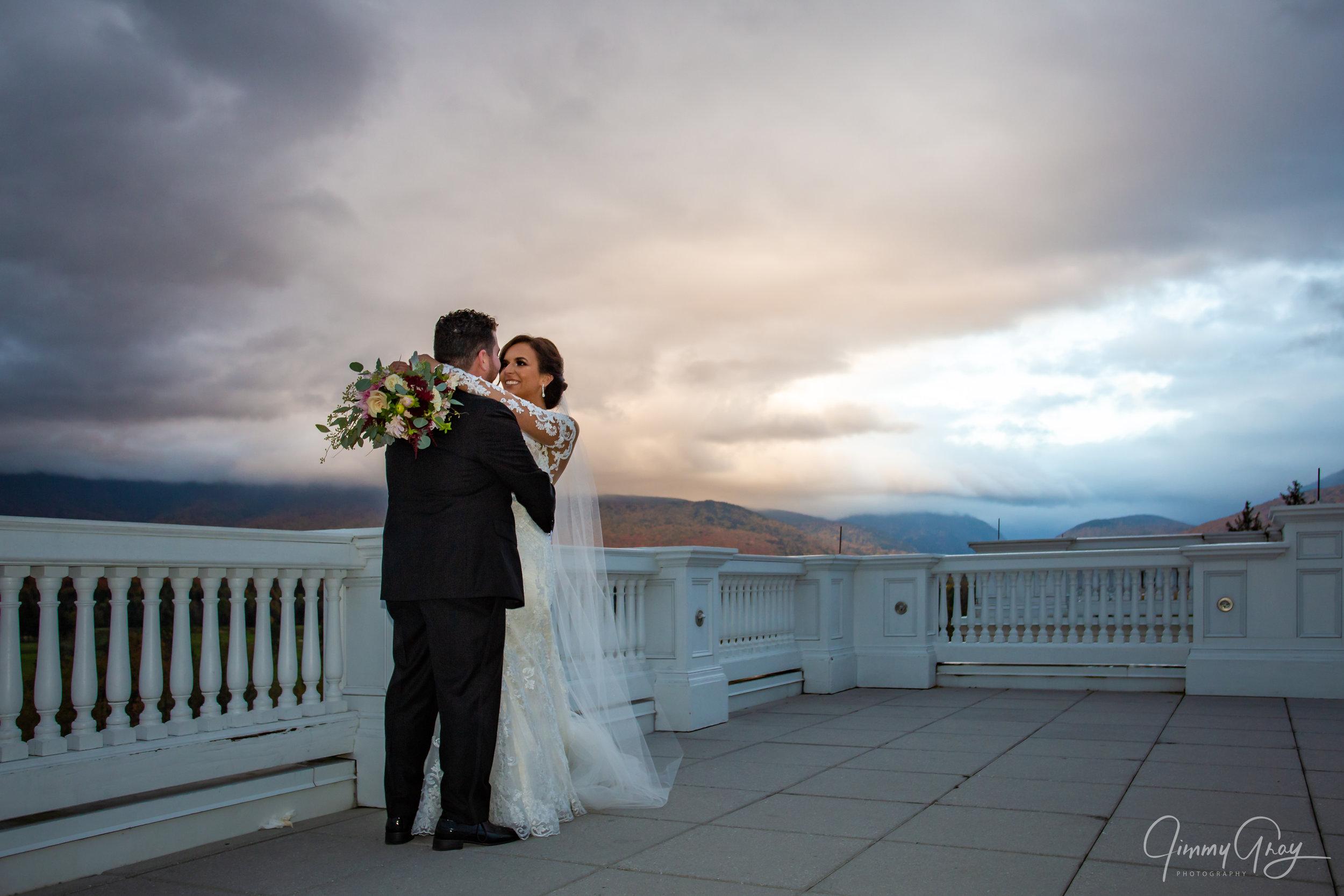 NH Wedding Photography - Jimmy Gray Photo - Bretton Woods, NH - Omni Mt. Washington Resort - Shot For MRD Photography
