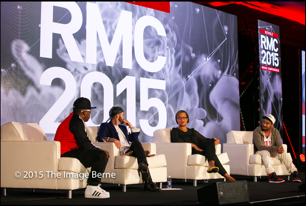 I've always tried to empower others with my knowledge.    Panelist @ Revolt Music Conference, 2015