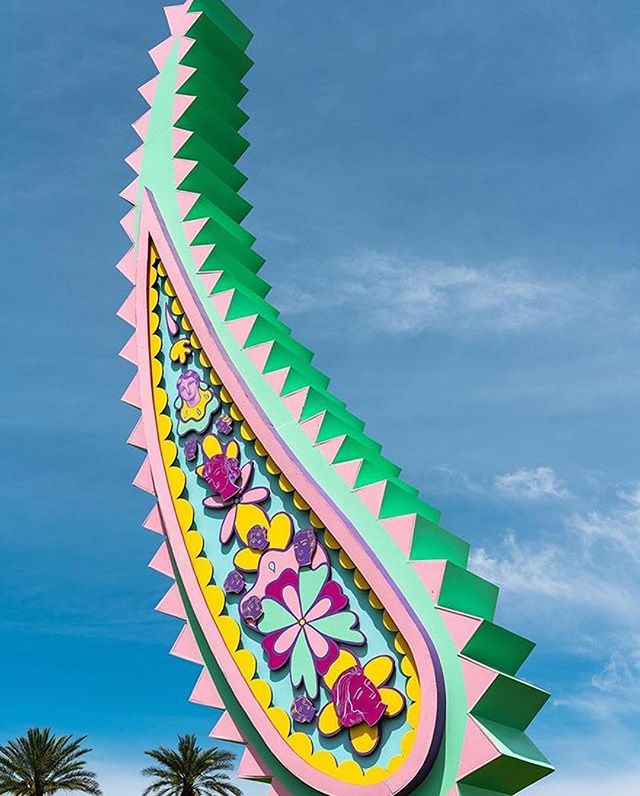 Congrats BWT featured artist @sofiaenriquez on a very successful @coachella weekend(s). Sofia's MISMO installation was one of the festival's creative highlights! 🙌 . #SofiaEnriquez #MismoInstallation #BoardWalkTacosVenice