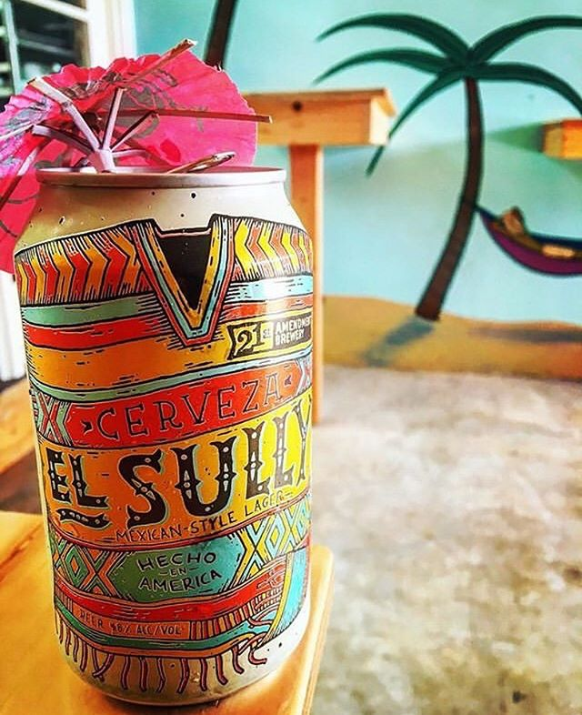 @21stamendment El Sully Mexican style lager, just one cerveza option for you to wash down those tacos with. 🌮🍻😎 . #BoardwalkTacosVenice #TacosAndBeersOnTheBeach #RitasHomemadeTorillas