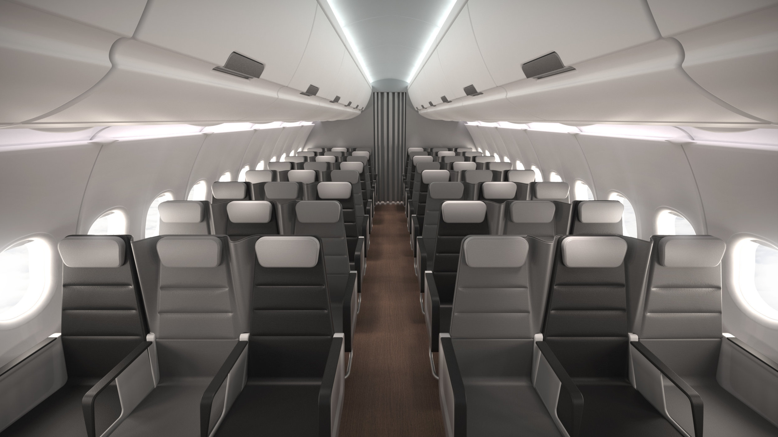 Checkerboard Aircraft Seating