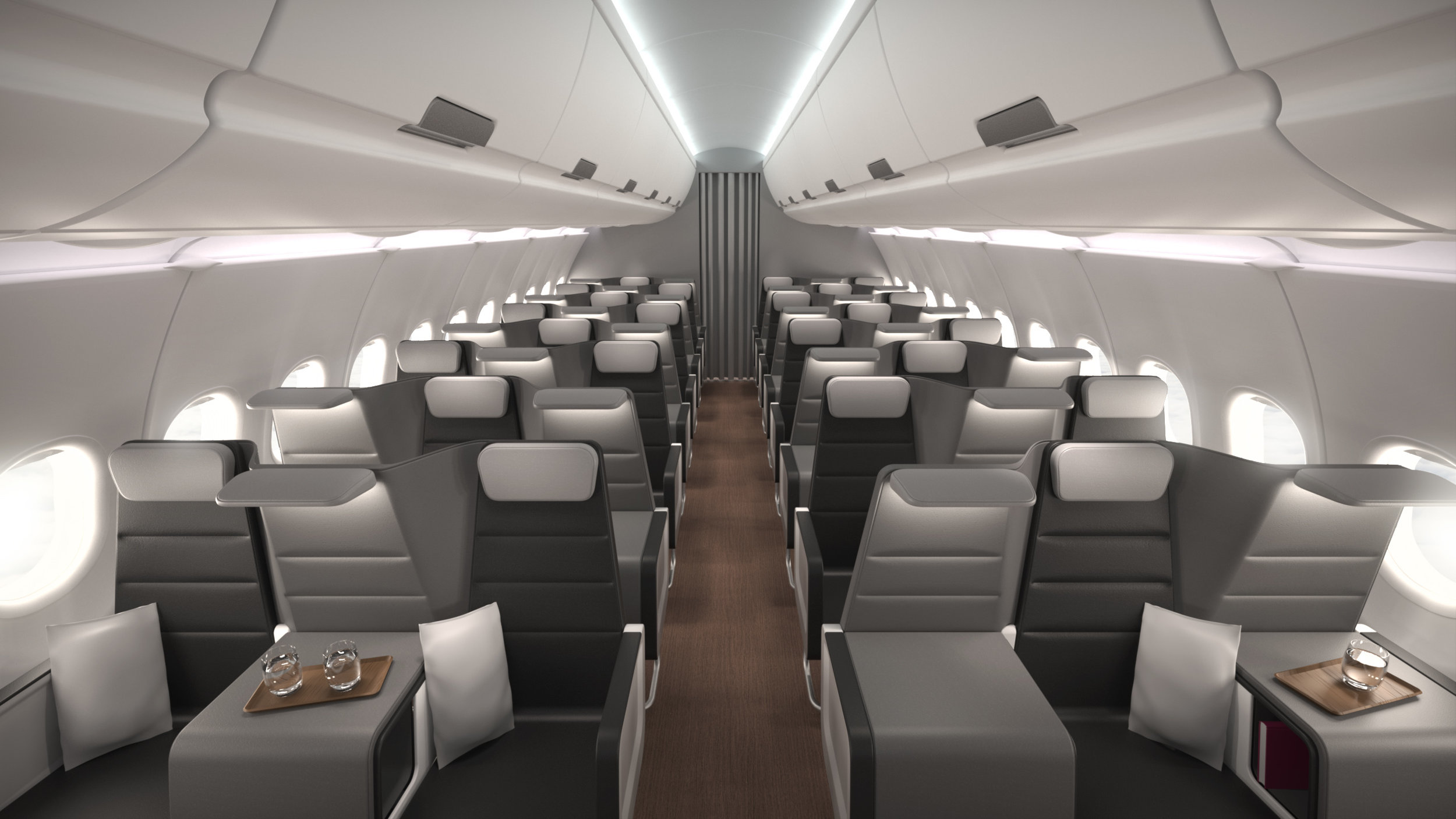 Checkerboard - Our solution to the Euro Business Class problem, Checkerboard allows instant conversion between high-density economy class and business class.