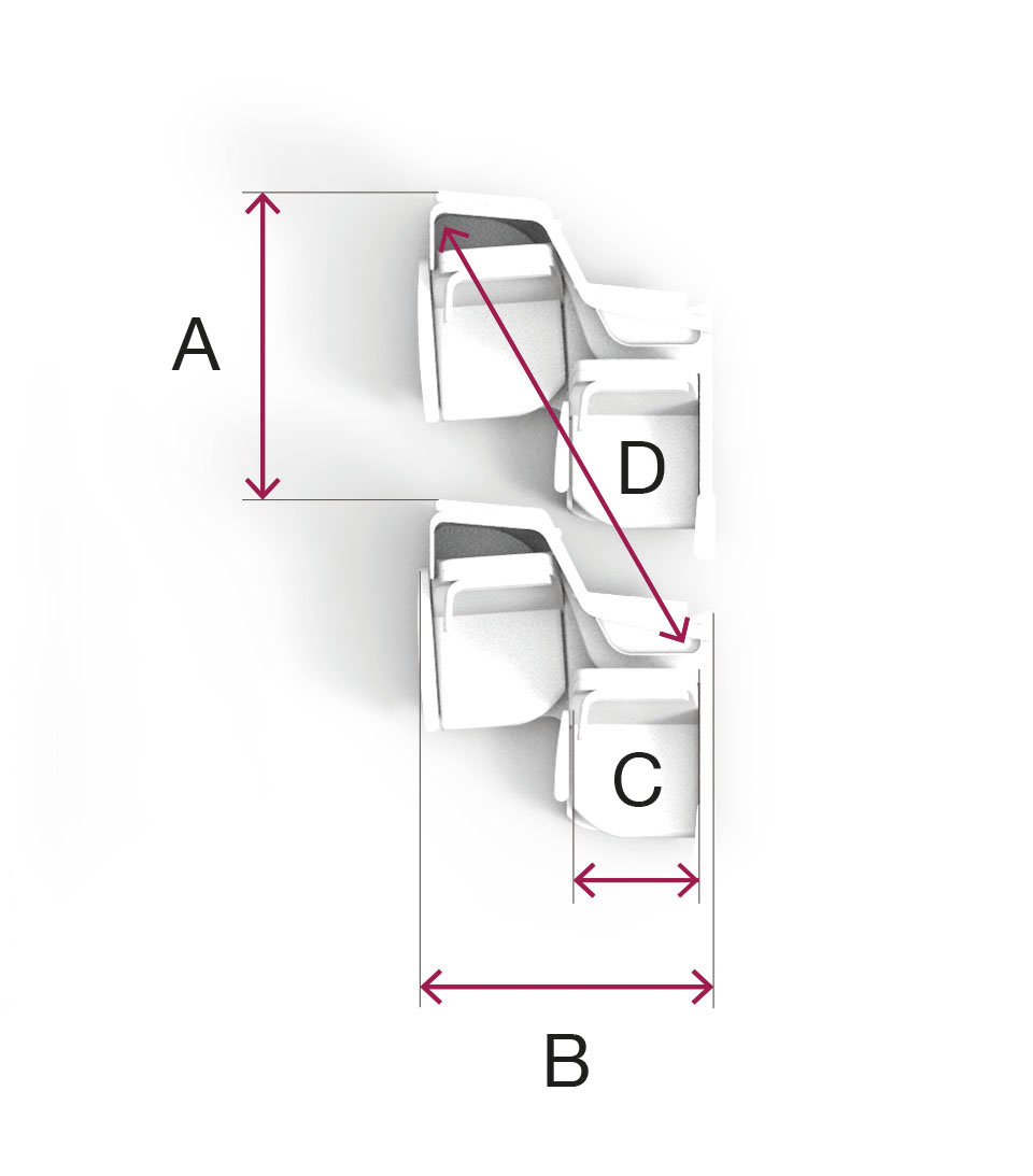 Butterfly Seating Dimensions for A330