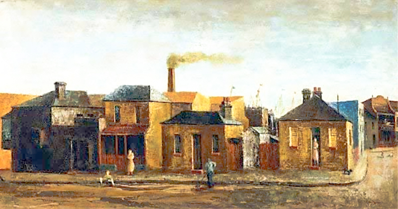 Sali Herman, Near the Docks, 1949