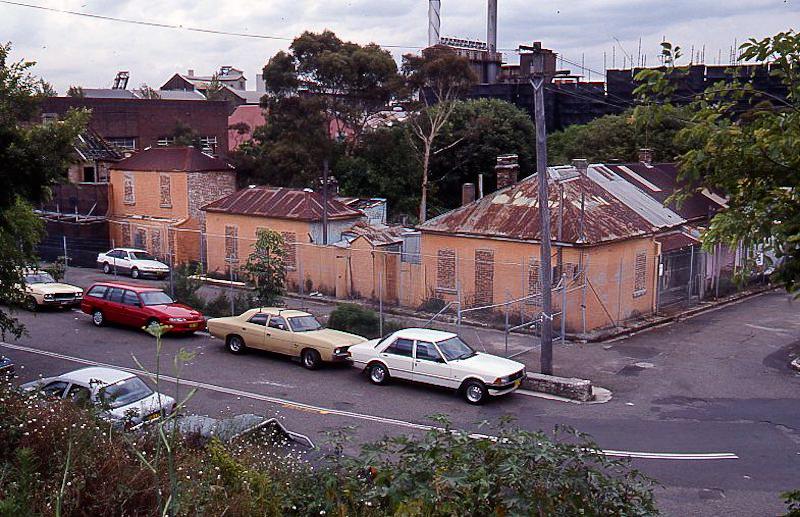 Scott St 1990s, Sydney Harbour Foreshore Authority