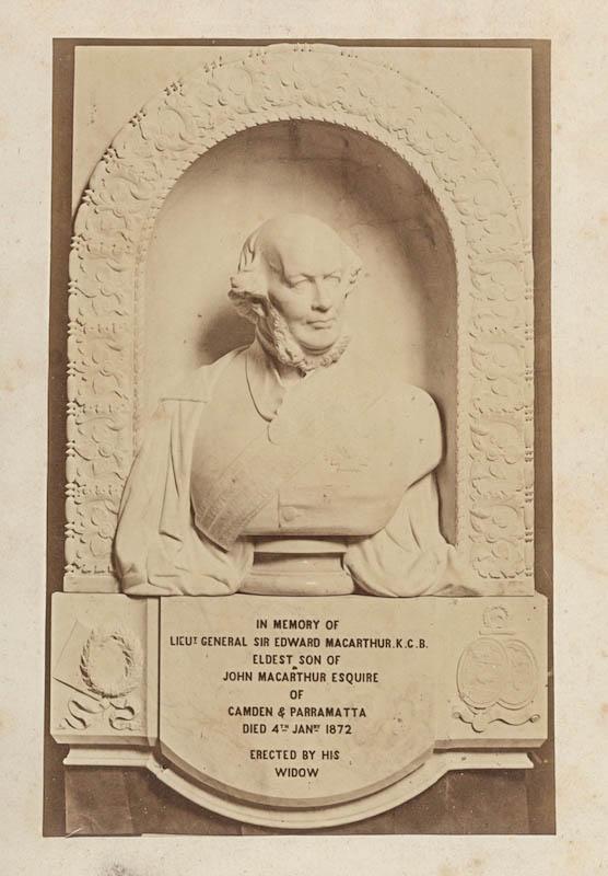 Edward Macarthur bust