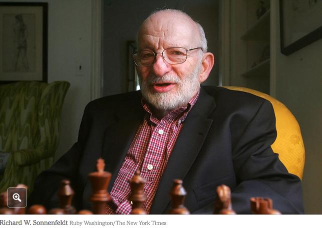 Richard Sonnenfeldt aged 85