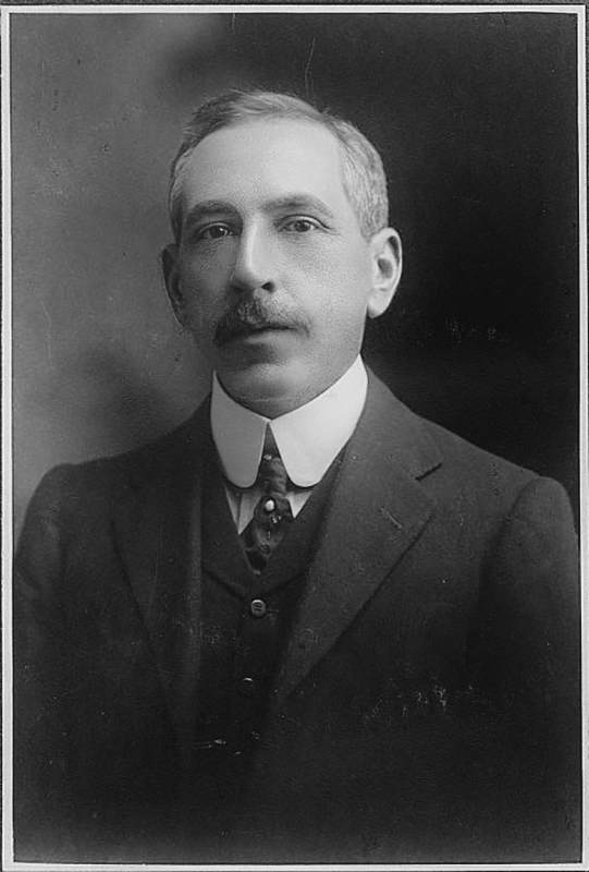 Billy Hughes as a young man