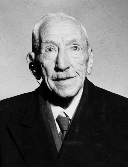 Billy Hughes aged 83, 1945