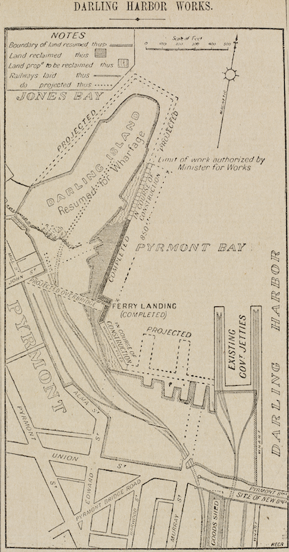 Darling Harbour works: Darling Island 1899. State Library of NSW