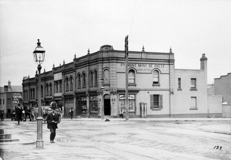Corner of Pyrmont Bridge Road and Pyrmont Street 1911