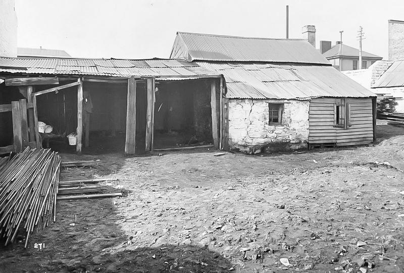 529 Wattle Street (rear) 1900