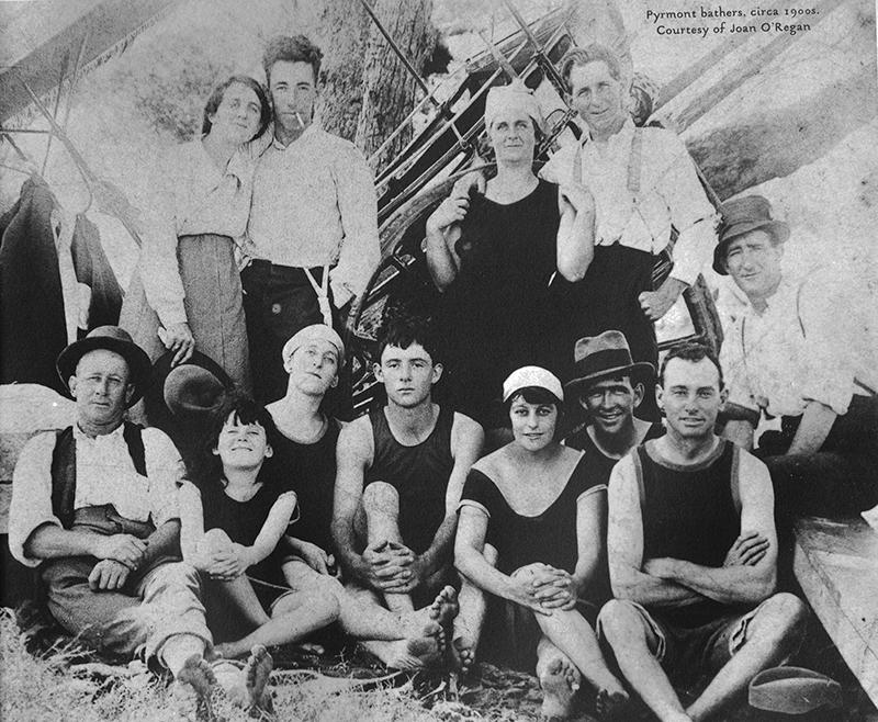 Pyrmont bathers, c1900