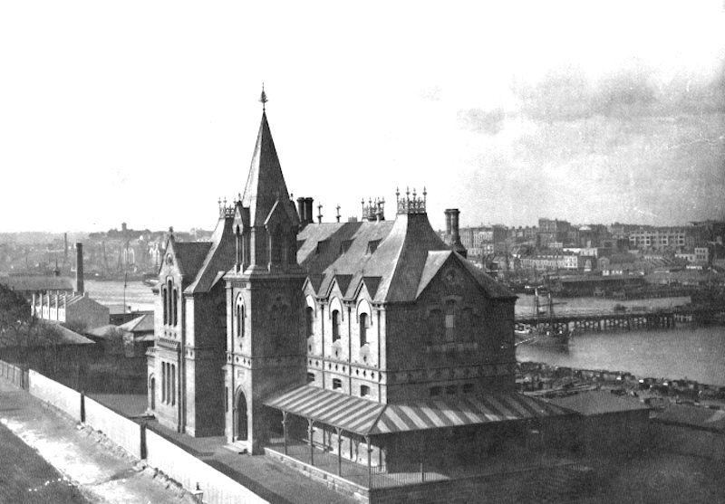 Murray Street Public School 1870s
