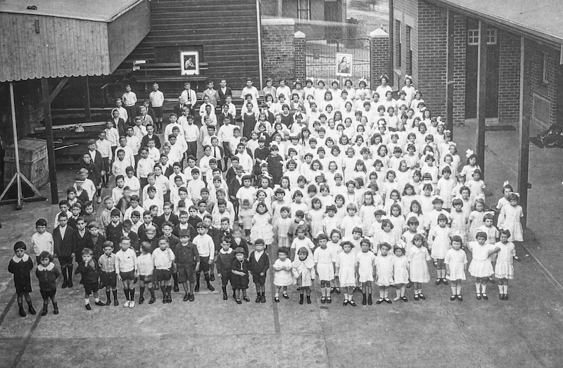 St Bede's school opening 9 May 1924