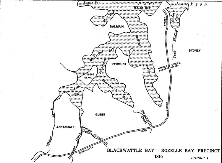 Blackwattle Bay-Rozelle Bay Precinct 1810