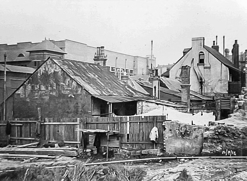 Looking south from John Street, 1916