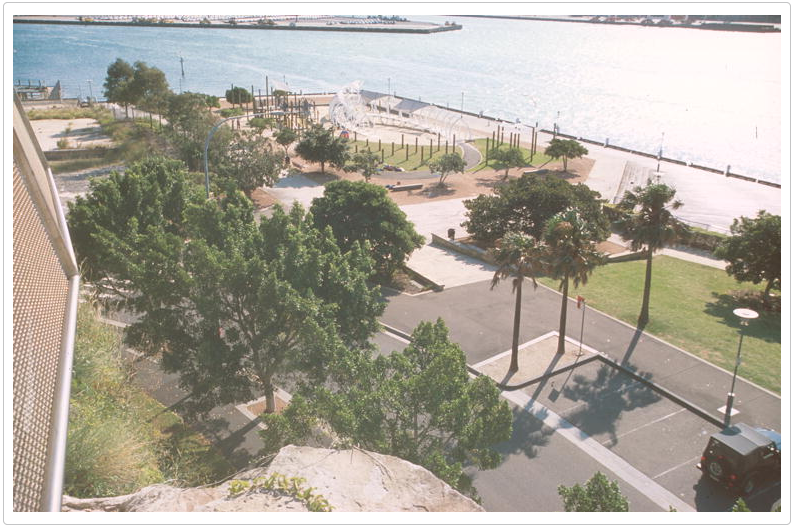 Pyrmont Point Park, Barry Moscrop, 2004