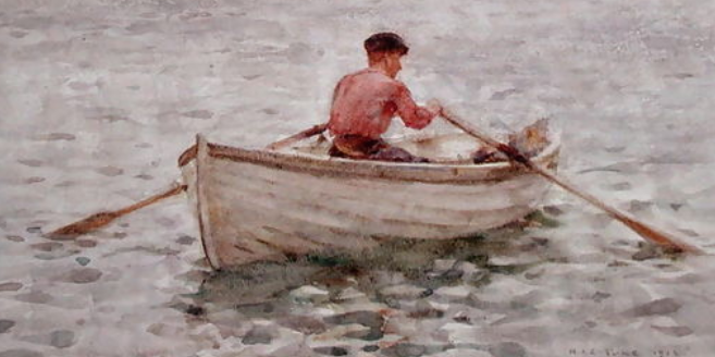 A typical waterman's boat 1830s