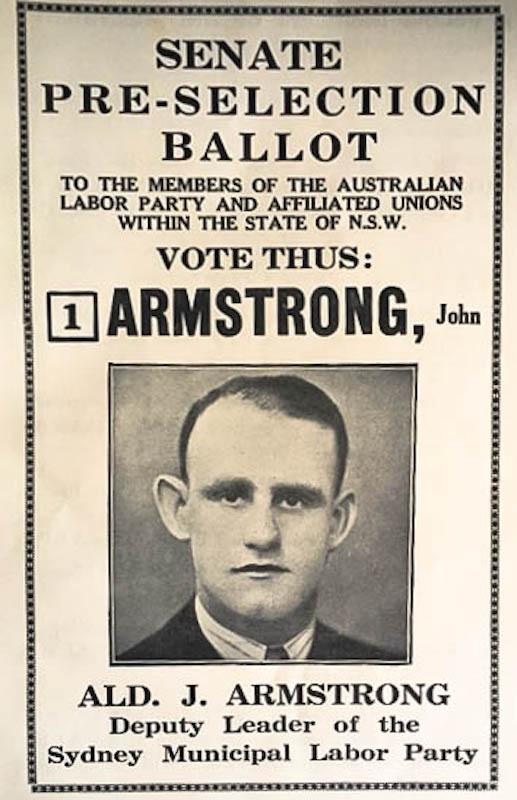How to vote - Senate preselection 1934
