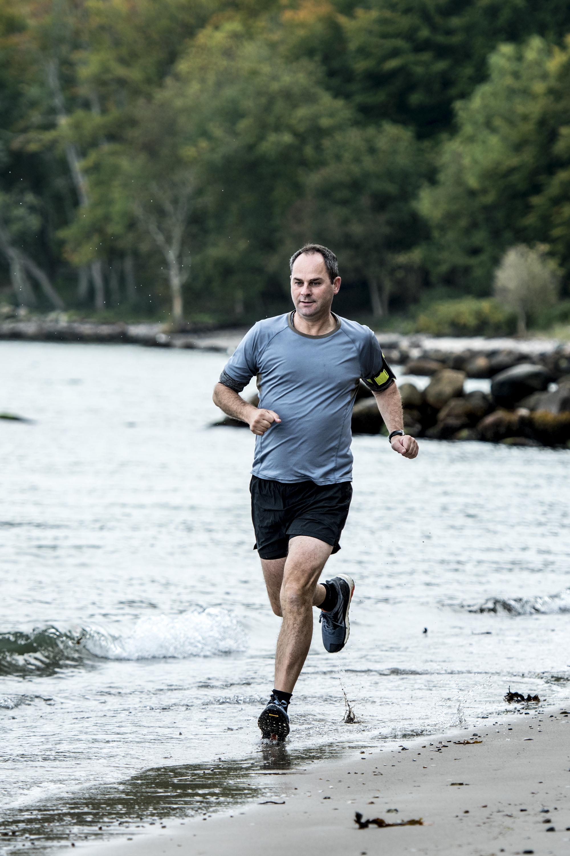 Løb er den idrætsgren, jeg aldrig bliver træt af. Jeg har løbet regelmæssigt i snart 35 år. Man vender aldrig trist hjem fra en løbetur.  Foto: Lars Krabbe