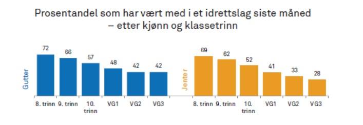 Kilde:  Ungdata 2017, Anders Bakken