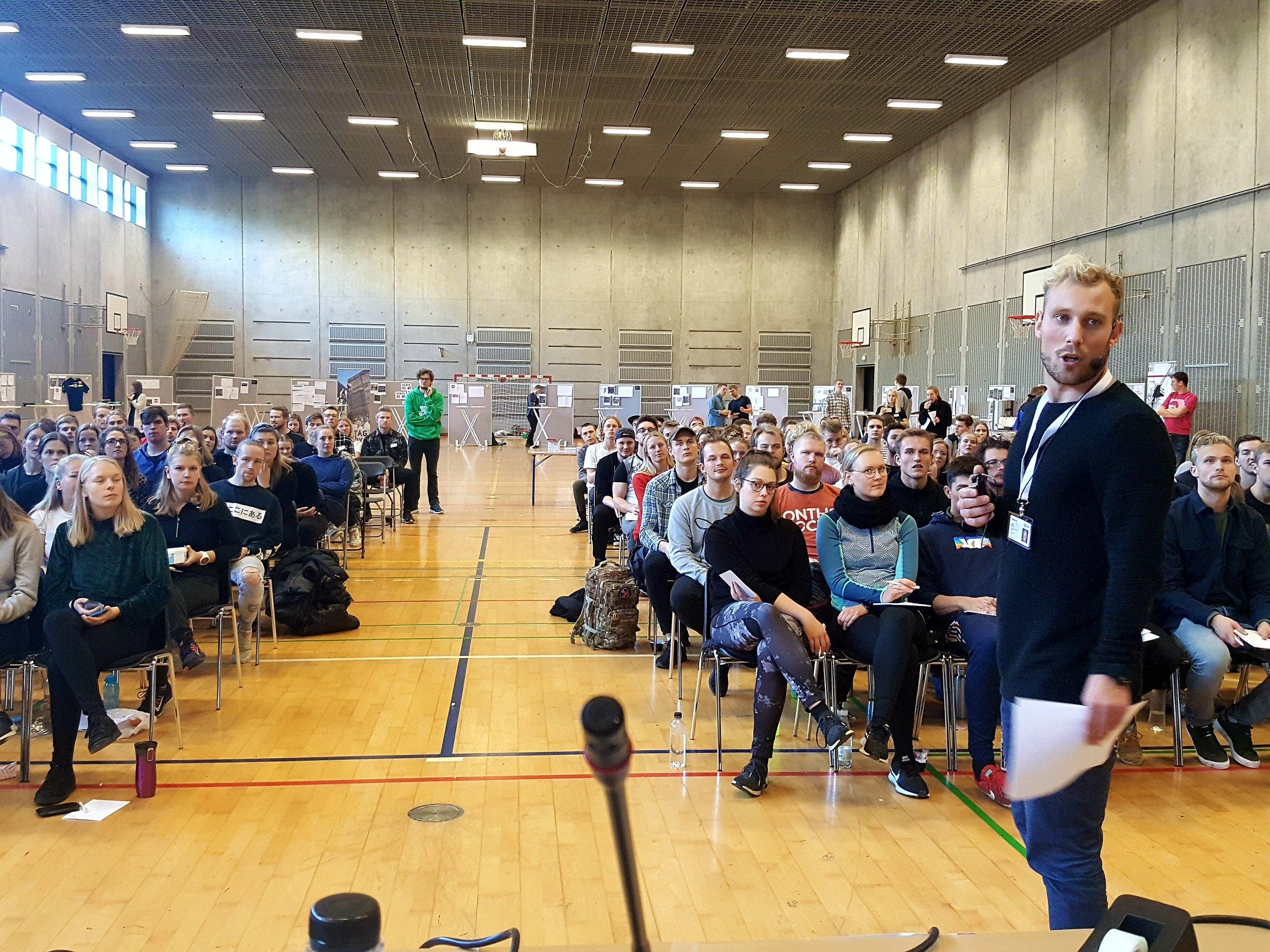 Karrieredag på Idræt og Biomekanik, Syddansk Universitet, 21. november 2018