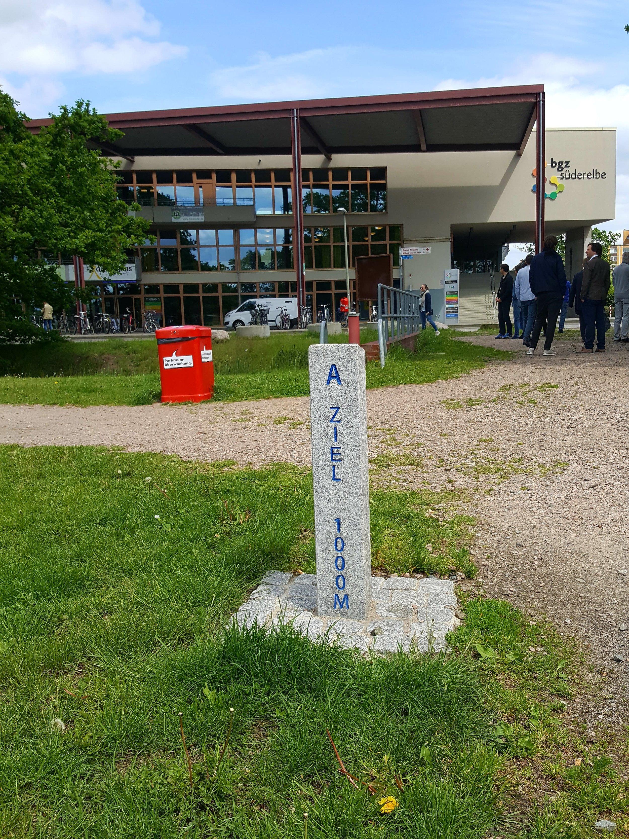 BGZ Süderelbe. Et forsøg på at binde skole, kultur, idræt og udendørs arealer sammen i et helt nyt og voksende boligområde.  Foto: Henrik H. Brandt
