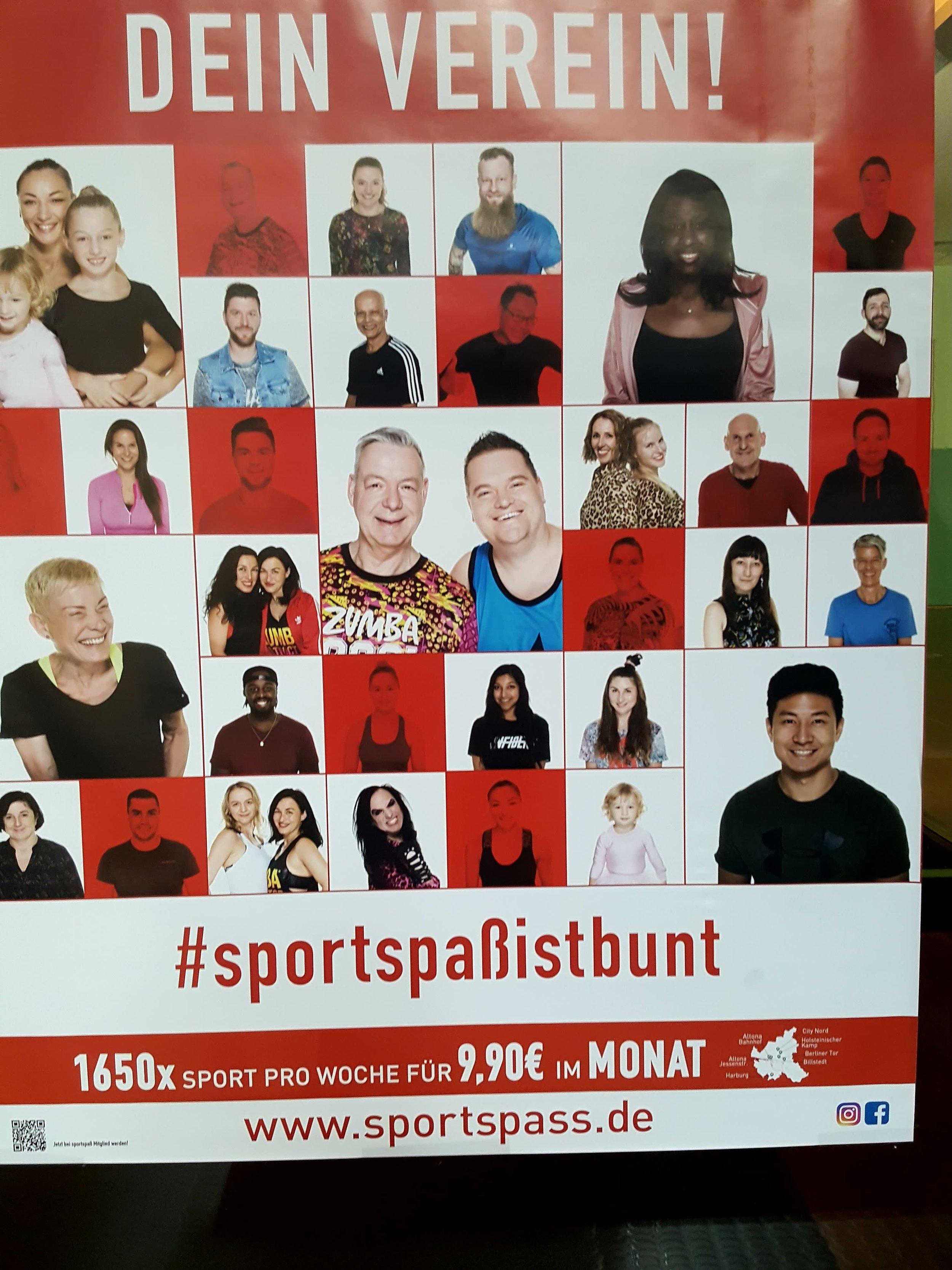 Man bliver ikke Hamburgs største idræts- og fritidsforening med 67.000 medlemmer uden at signalere mangfoldighed.  Foto: Henrik H. Brandt