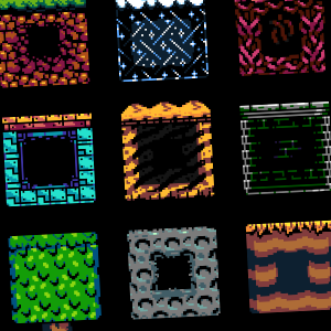 NES Tileset (16x16)