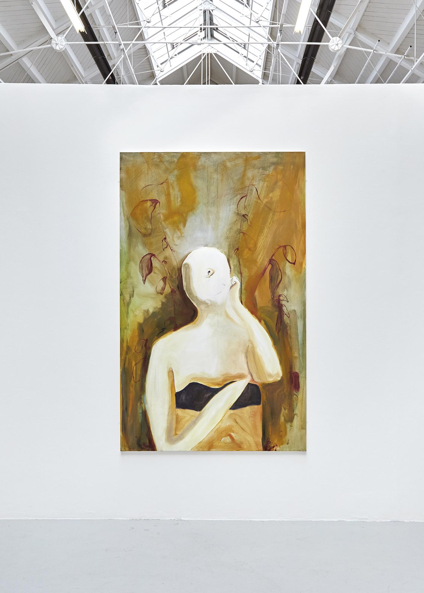 2. The Thinker, 210 x 130, oil on canvas.jpg