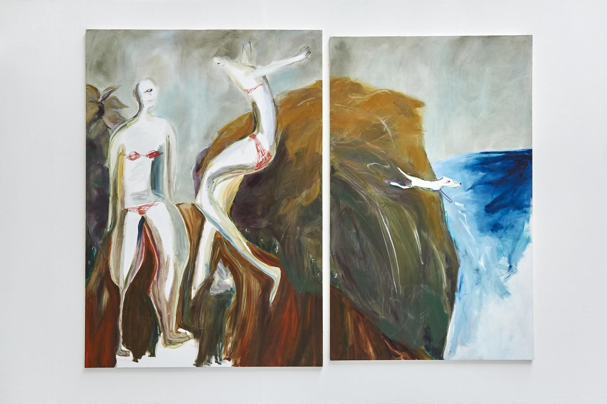 1. Unselfconsciously 250 x 330 cm, oil on canvas.jpg
