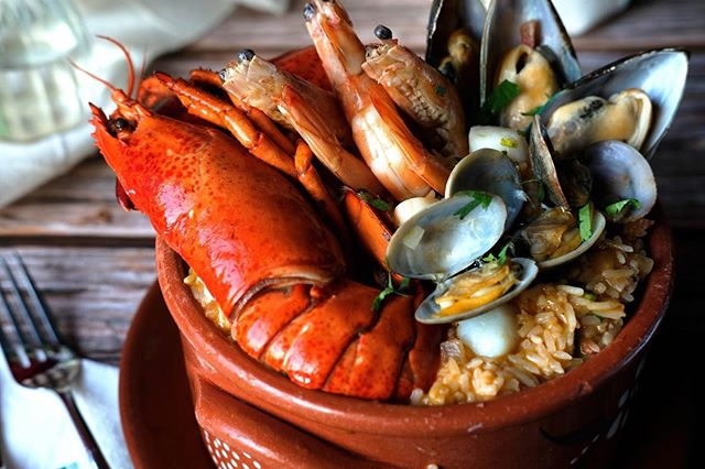 "Share a ""WOW"" moment at IN Portuguese Food with the Portuguese Seafood Rice!"