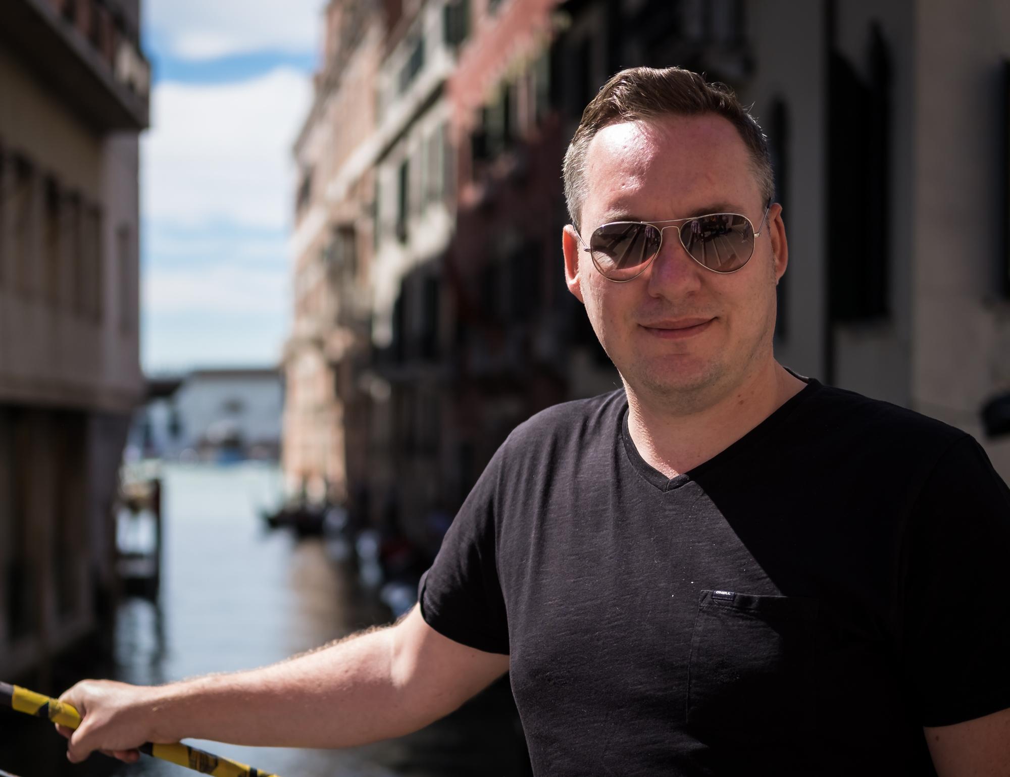 Photo of Trevor Sherwin taken in Venice