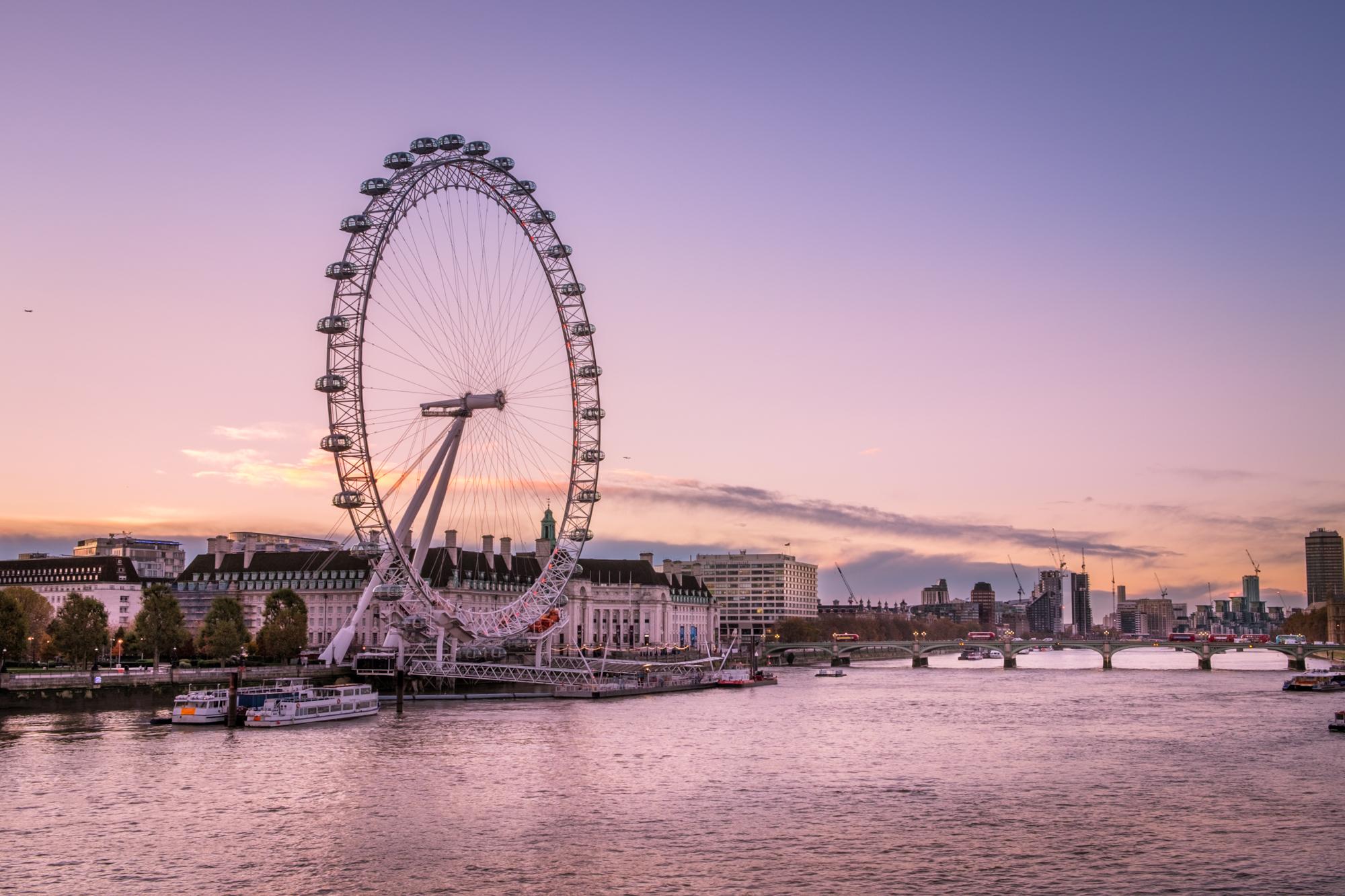 Photo of the London Eye taken by Trevor Sherwin