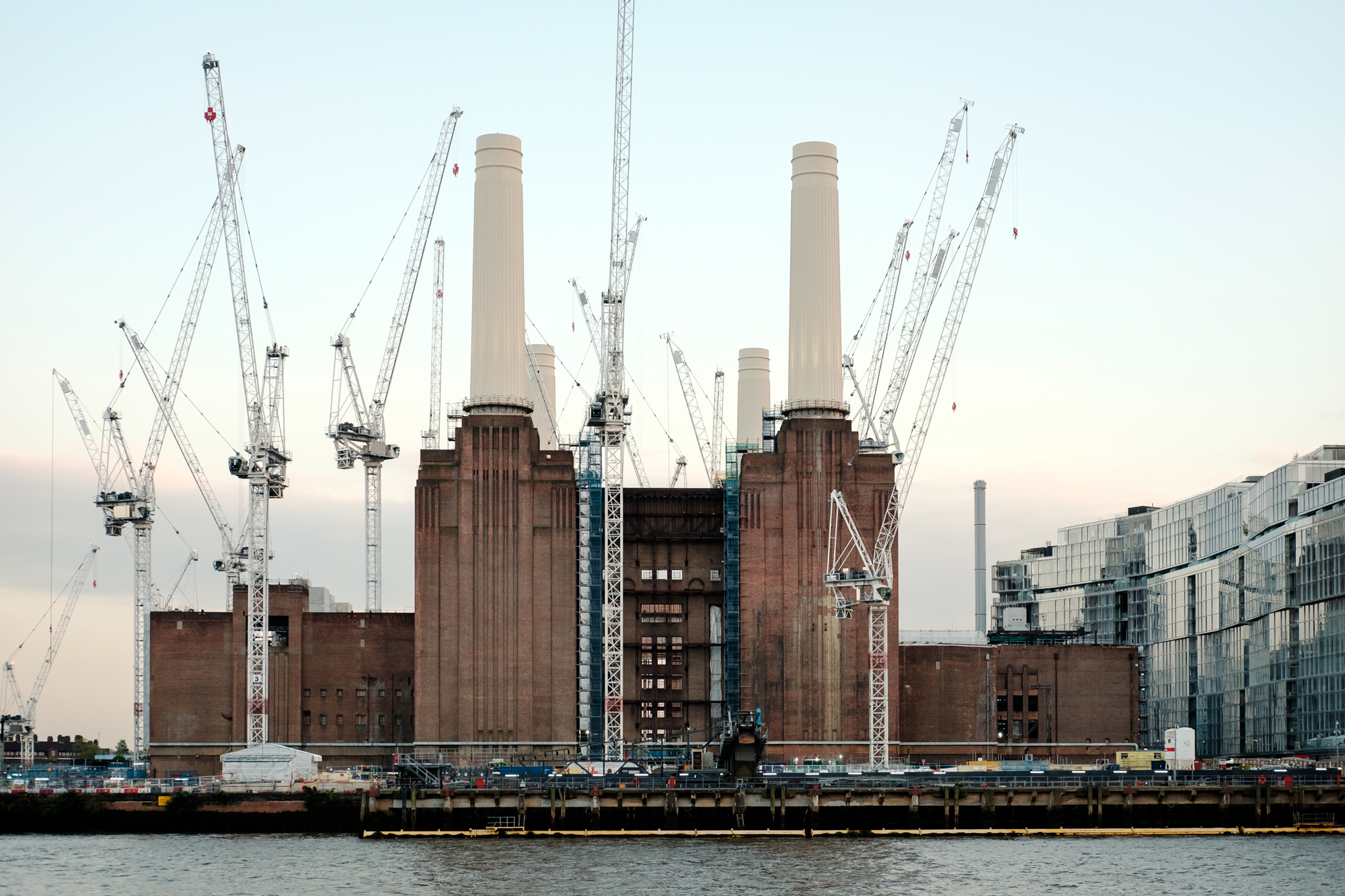 London Chrome photo of Battersea Power Station by Trevor Sherwin