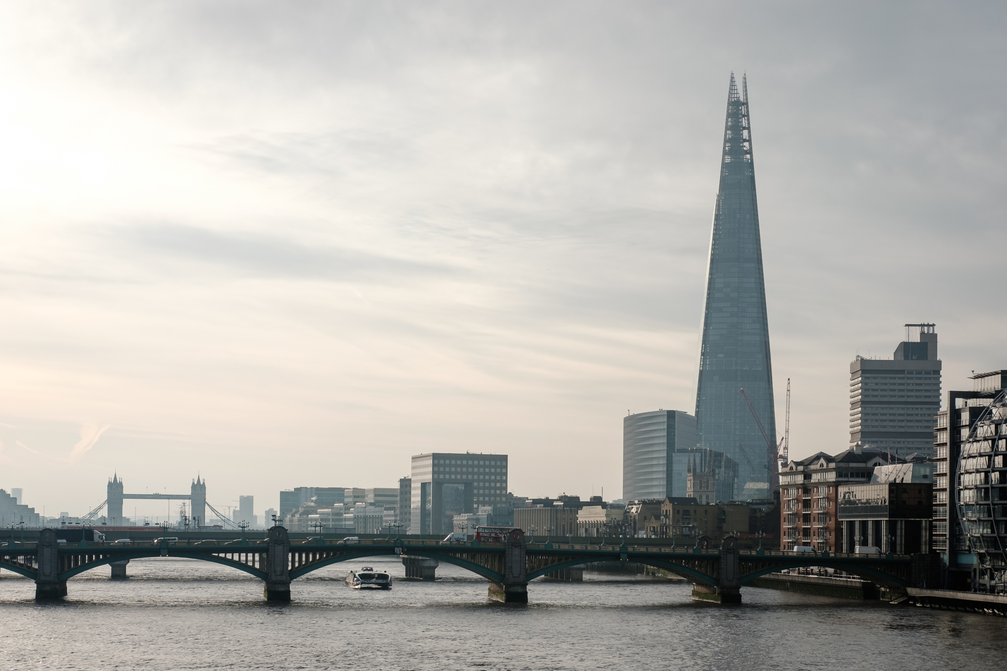 London Chrome photo of The Shard taken by Trevor Sherwin