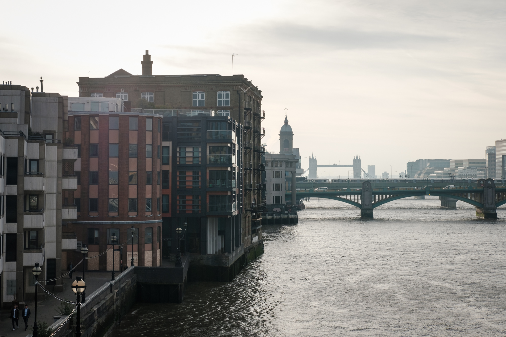 London Chrome photo of the Thames North Bank by Trevor Sherwin